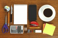 A neatly arranged assortment of office supplies.