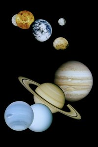 There are eight planets in our solar system.