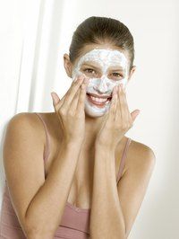 Baking soda may be used as a facial scrub to exfoliate skin.