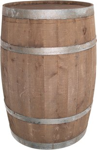 Wooden barrels hold lots of potential for creativity.