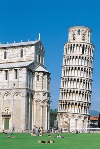 The Leaning Tower of Pisa is one example of problematic ground settling.