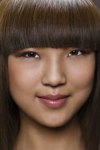 Bangs can help cover up thinning hair.
