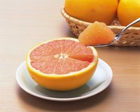 Ruby Red grapefruits generally have few seeds, making your job easier.