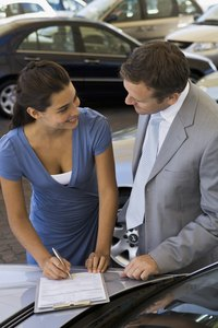Many automotive salesmen work on a commission basis.