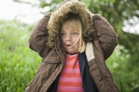Parkas are heavy duty jackets used in extreme weather conditions.