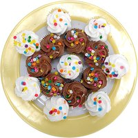 Sell cupcakes from your home, at a retail store or online.