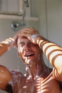 Both shower creams and shower gels produce a cleansing lather.
