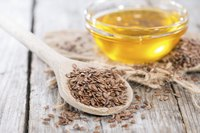 Both flaxseeds and flaxseed oil are rich in omega 3s.