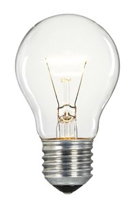 Incandescent light bulbs are surprisingly strong and heat tempered.