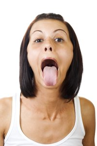 The tongue is both sensory and expressive.