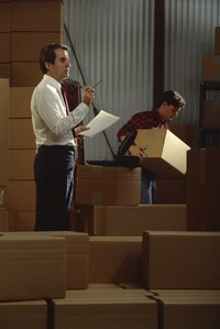 Warehouse personnel ensure received shipments match shipping documentation in quantity.
