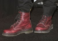 Dr. Martens boots remain firm favorites in the rock-and-roll world.
