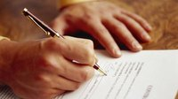 How to Issue a Business Contract