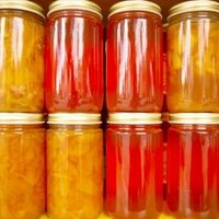 How to sterilize canning jars without a pressure cooker ehow for How long to sterilize canning jars
