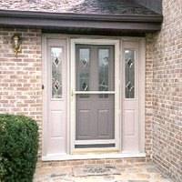 How To Install An Entry Door With Sidelights EHow