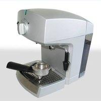 espresso machine works