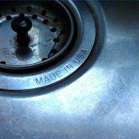 Tightening Sink Strainer Nut Kitchen