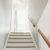 how to lay linoleum on stairs ehow. Black Bedroom Furniture Sets. Home Design Ideas