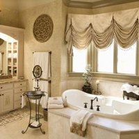 How to decorate bathroom walls ehow for Bathroom remodel queens