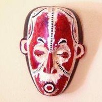 how to make an african mask