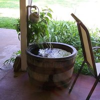 How To Make A Whiskey Barrel Fountain Ehow