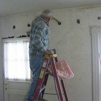 How to insulate interior walls that are already drywalled ehow for Do you insulate interior walls