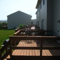 Non wood deck materials ehow for Non wood decking material