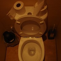 how to remove lime scale from a toilet ehow. Black Bedroom Furniture Sets. Home Design Ideas