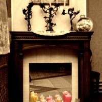 Non working fireplace decorating ideas ehow - Decorate non working fireplace ...