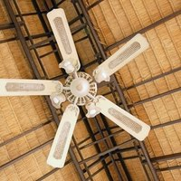 How To Install A Ceiling Fan On A Sloped Ceiling Ehow