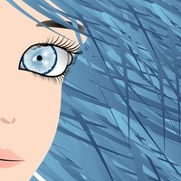 how to dye hair blue black ehow