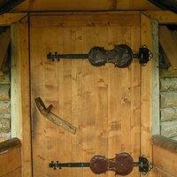 how to build a solid wood interior door
