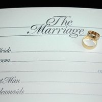 How To Customize Your Own Marriage Certificate Ehow