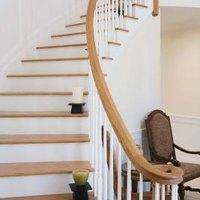 Sandpaper Stair Treads