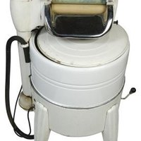 How to use a wringer washing machine ehow for How much is a washing machine motor