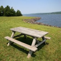 How To Refinish Wooden Picnic Tables Ehow