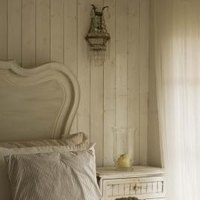 Antique Bed Frame With Holes For Ropes