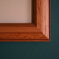 How to Dull the Shine of Glass Frames | eHow