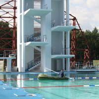 Diving Board Height Regulations Ehow
