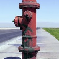 how to make a fire hydrant prop