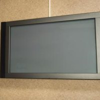 proper lcd tv mounting height ehow. Black Bedroom Furniture Sets. Home Design Ideas