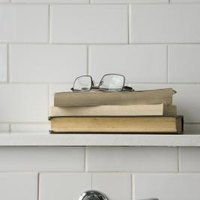 How To Install Shelves On A Brick Or Concrete Wall Ehow