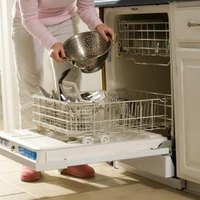 how to clear a clogged dishwasher