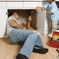 How To Replace The Floor In The Cabinet Under The Kitchen
