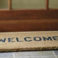 How To Paint A Coir Doormat Ehow