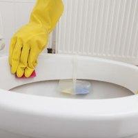 how to clean brown calcium buildup in toilet bowl