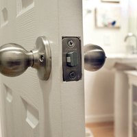 how to unlock a locked bathroom door with pictures ehow