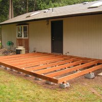 How to Build a Deck Using Deck Blocks | eHow