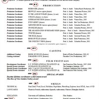 how to make a production coordinator resume ehow