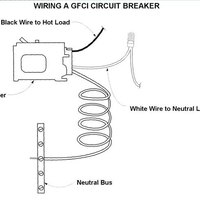 gfci wiring diagram breaker wiring diagram and schematic design wiring a gfci outlet how to wire line and load schematics